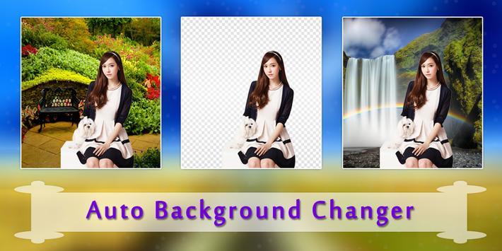 Auto Photo Background Changer : Cut Paste Photo screenshot 2