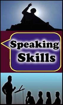 Speaking Skills poster