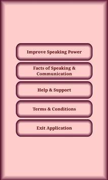 Speaking Skills screenshot 1