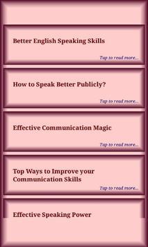 Speaking Skills screenshot 2