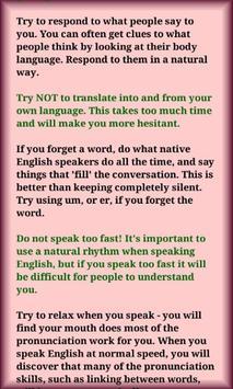 Speaking Skills screenshot 3