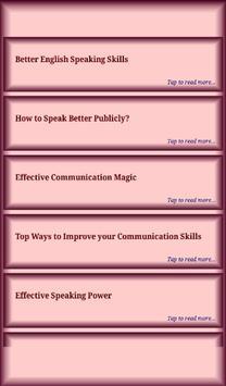 Speaking Skills screenshot 6