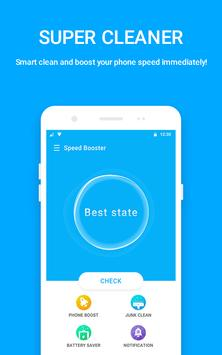 SUPO Speed Booster : Phone Cleaner & Battery Saver poster
