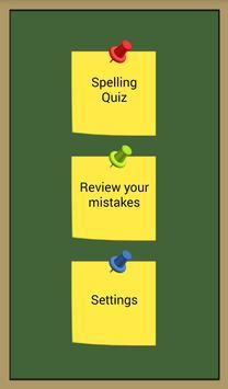 Spelling Screenshot 5