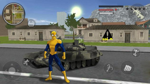 Spider Rope Gangster Hero Vegas - Rope Hero Game screenshot 3