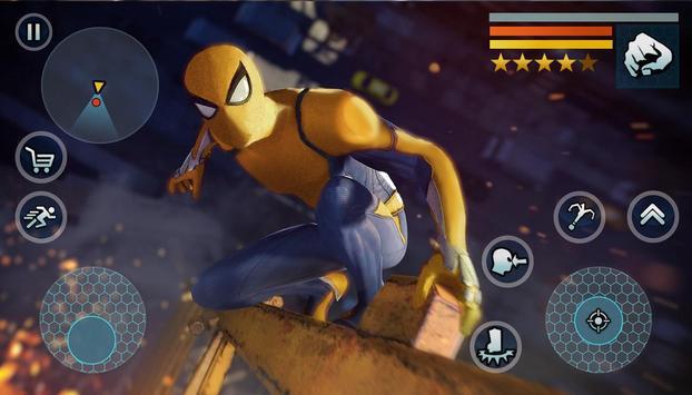 Spider Rope Gangster Hero Vegas - Rope Hero Game poster