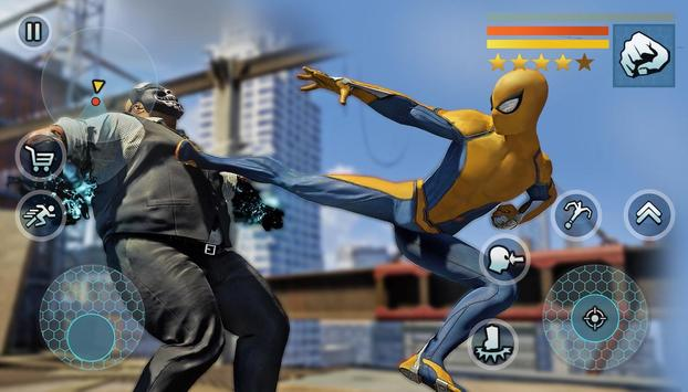 Spider Rope Gangster Hero Vegas - Rope Hero Game screenshot 11