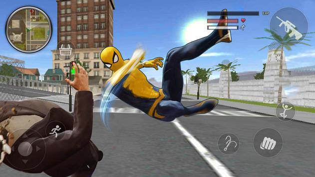 Spider Rope Gangster Hero Vegas - Rope Hero Game screenshot 1