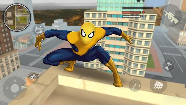 Spider Rope Gangster Hero Vegas - Rope Hero Game screenshot 4