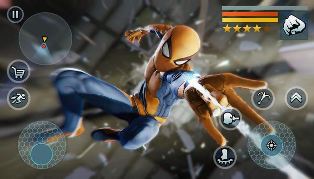 Spider Rope Gangster Hero Vegas - Rope Hero Game screenshot 9
