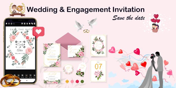 Invitation maker 2020 Free Birthday, Wedding card screenshot 3