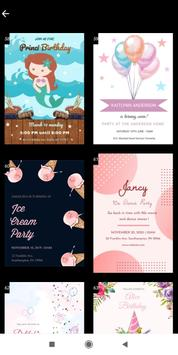 Invitation maker 2020 Free Birthday, Wedding card screenshot 7