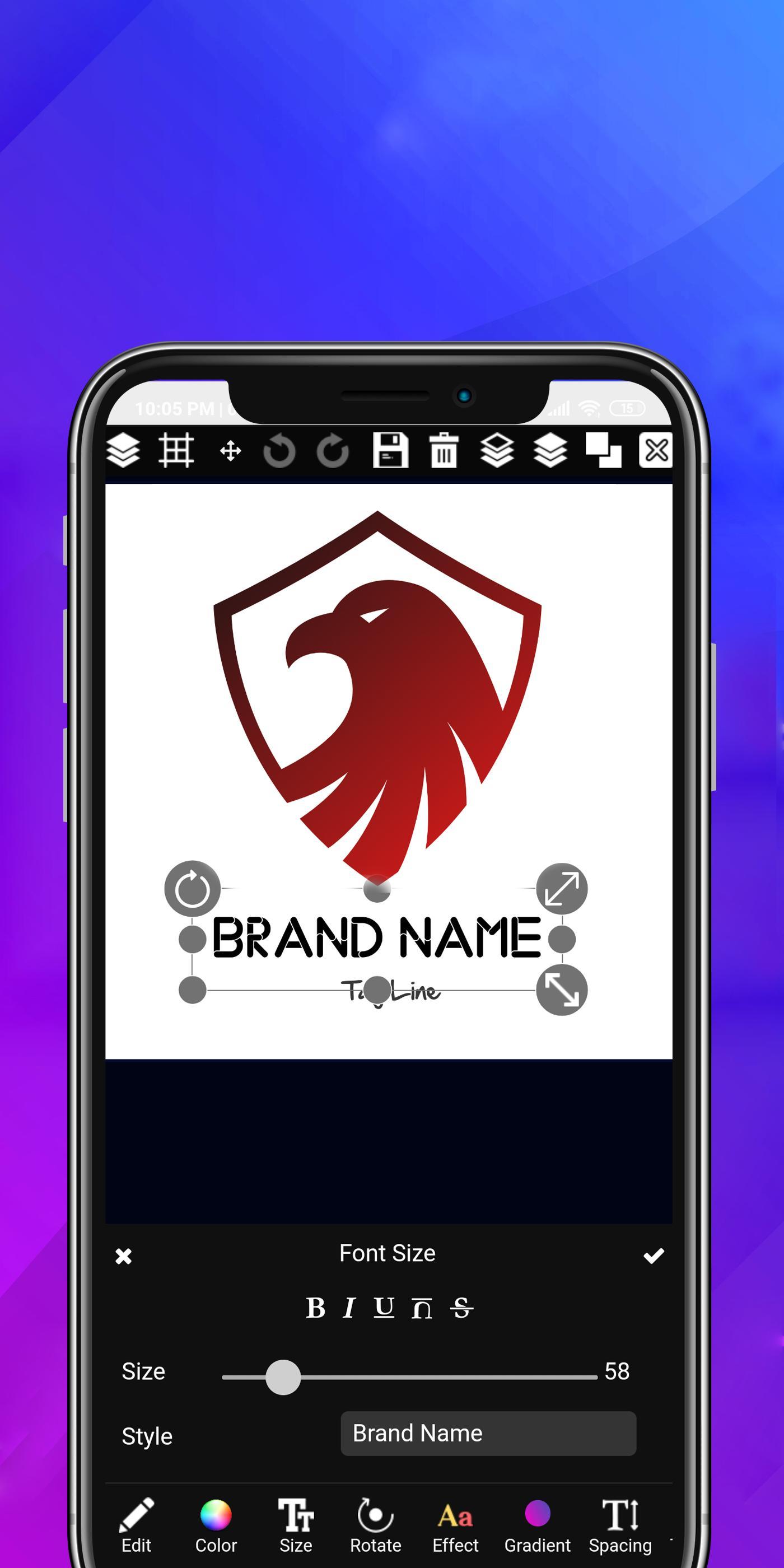 Logo maker 2019 3D logo designer, Logo Creator app for