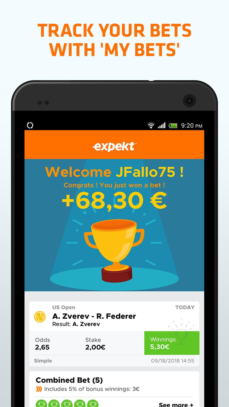 expekt mobile betting apps