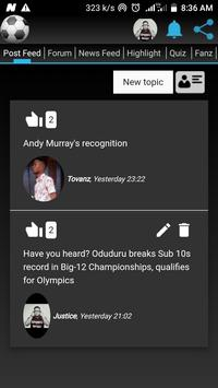Sportbook screenshot 1