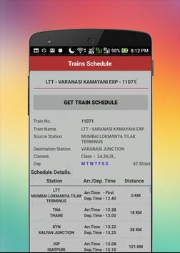Offline Railway Time Table スクリーンショット 6