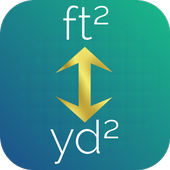 Square Feet to Square Yards Converter icon