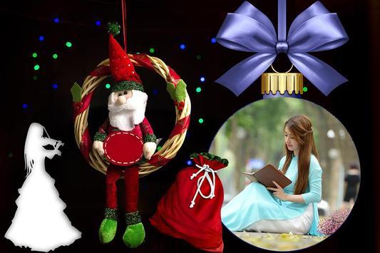 Christmas Photo Editor & Greetings poster