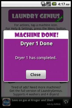 LaundryGenius Lite screenshot 3