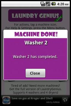 LaundryGenius Lite screenshot 7