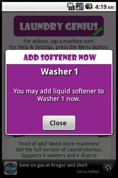 LaundryGenius Lite screenshot 4