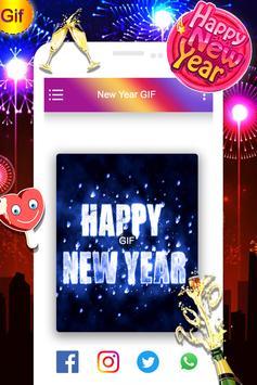 Happy New Year GIF 2019 screenshot 4