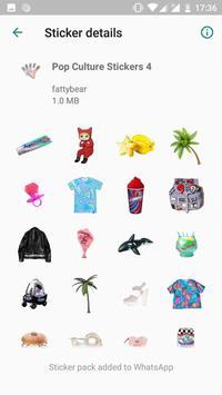 Pop Art Stickers screenshot 1