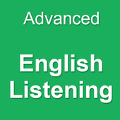 Advanced  English Listening icon