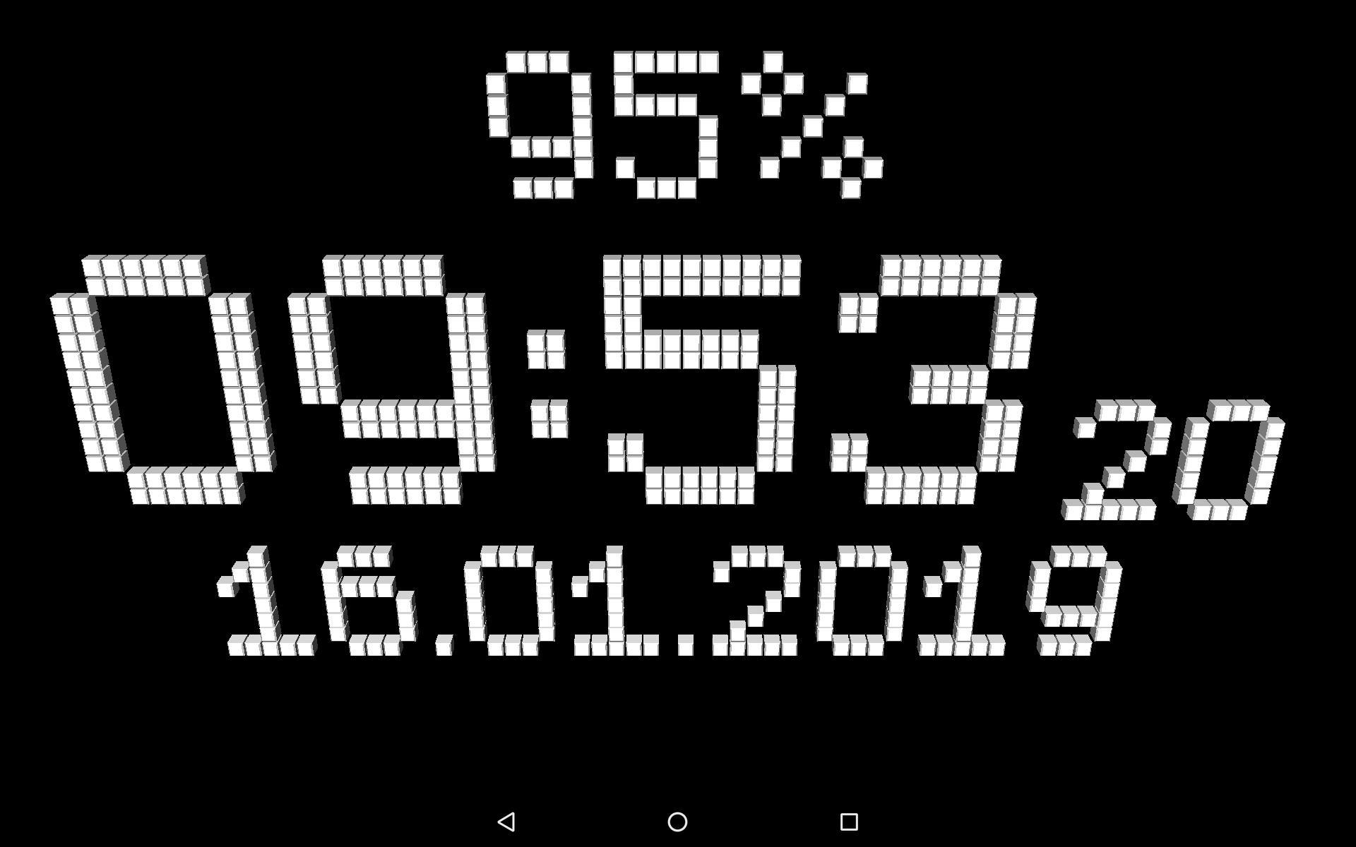 Живые Обои Цифровой Часы