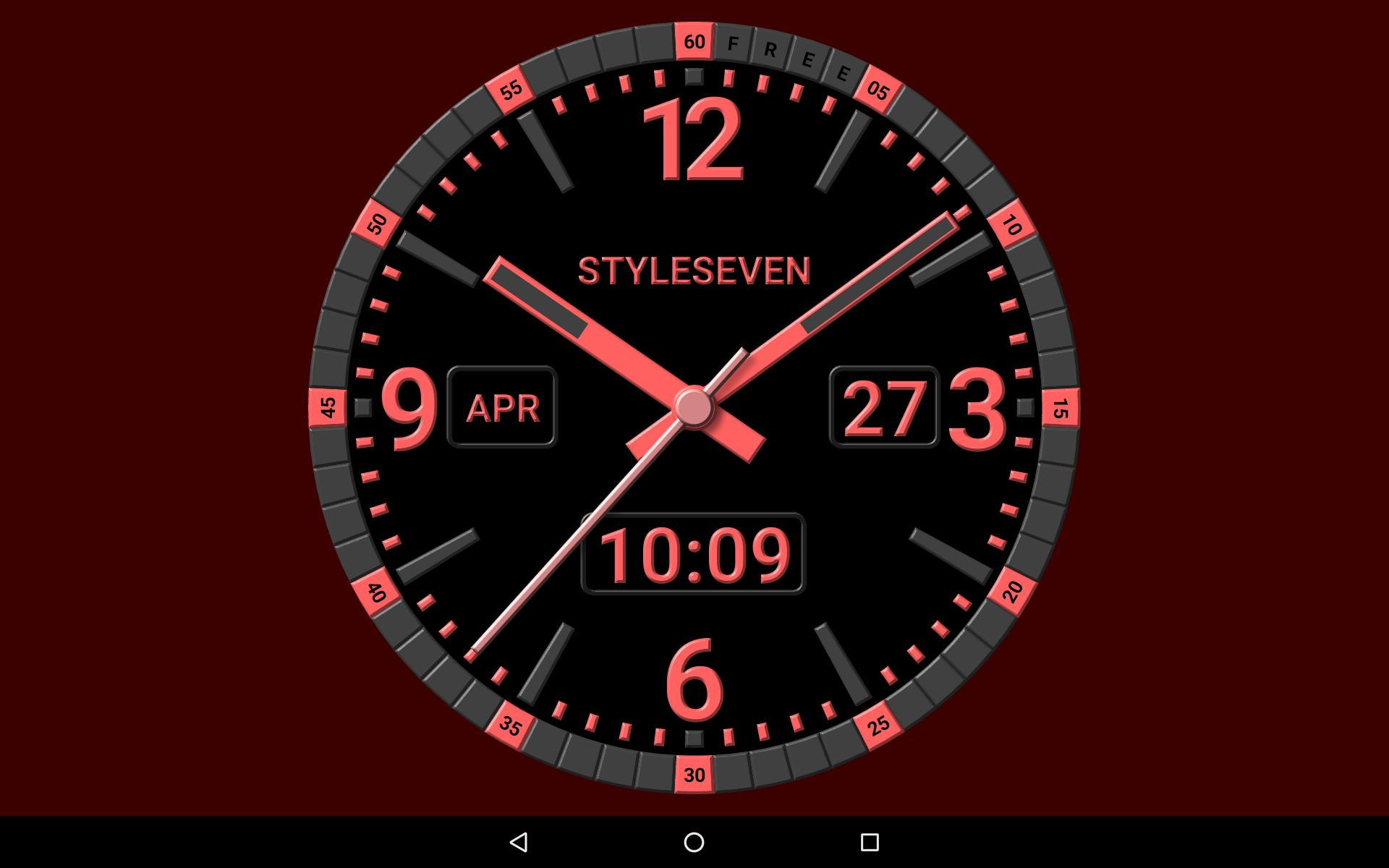 Kit Analog Clock Live Wallpaper-7 for Android - APK Download
