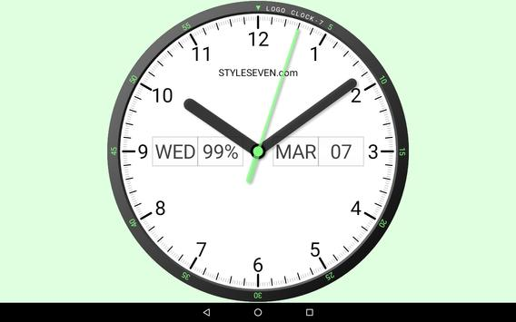 f2e96d895 Logo Analog Clock Live Wallpaper-7 for Android - APK Download