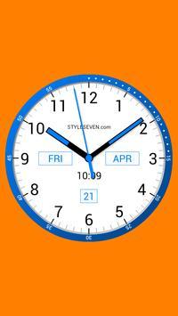 Color Analog Clock-7 screenshot 1