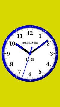 Color Analog Clock-7 screenshot 3