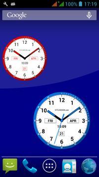 Color Analog Clock-7 screenshot 4