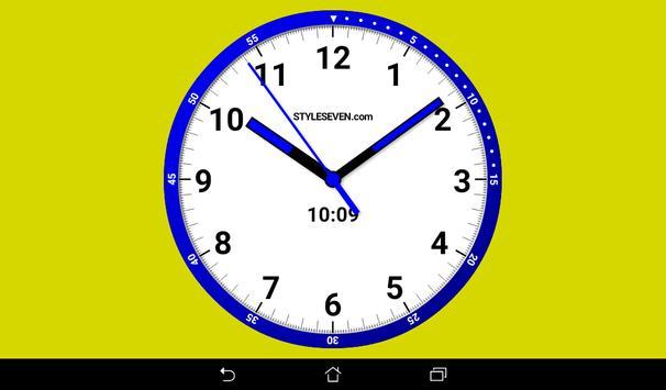 Color Analog Clock-7 screenshot 7