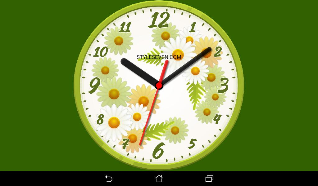 Skin Analog Clock-7 for Android - APK Download