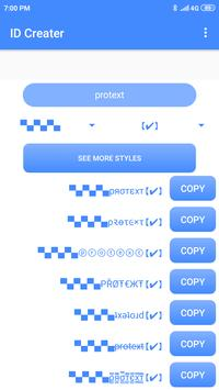 PROTEXT- Stylish and Fancy text fonts for PUBG for Android - APK