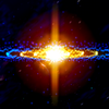 3D Stars Journey - Universe Music Visualizer 图标