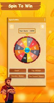 Spin to Win : Earn Daily 10$ : Earn Free Cash poster