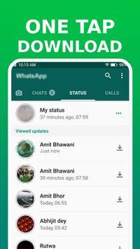 Descargador de Estados de WhatsApp captura de pantalla 7