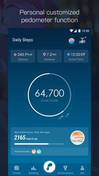 Daily Pedometer poster