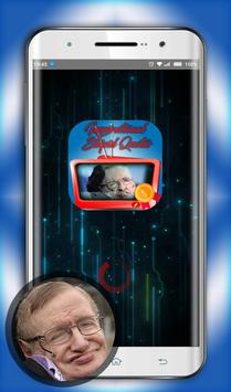 Stephen hawking Inspirational and stupid quotes poster