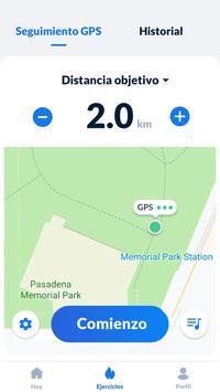 Seguimiento de pasos - Podómetro gratis captura de pantalla 1