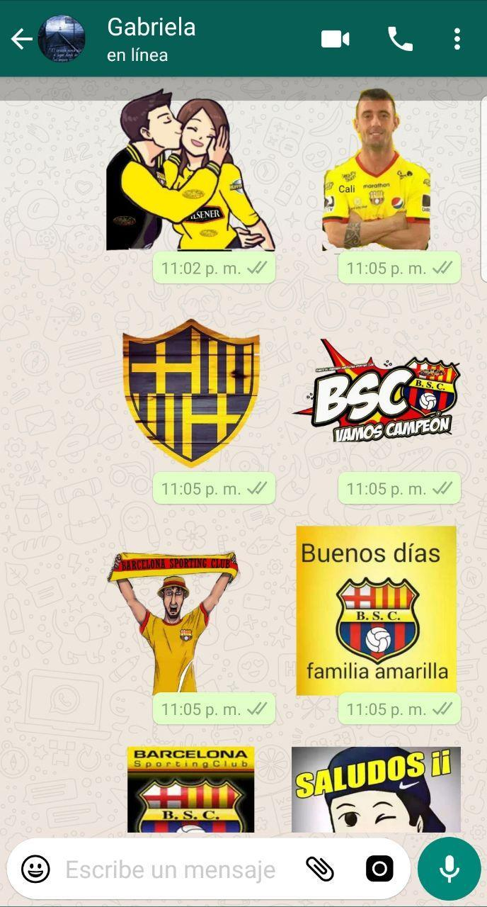 Stickers De Barcelona De Ecuador For Android Apk Download