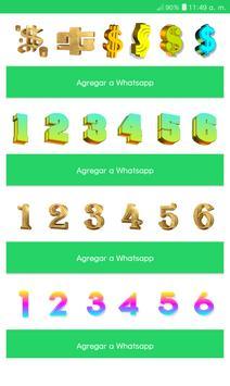 TextWhats - Stickers 3D para Whats screenshot 1