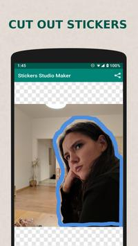 Stickers Studio - make Emoji Stickers for Whatsapp poster