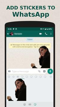 Stickers Studio - make Emoji Stickers for Whatsapp screenshot 1
