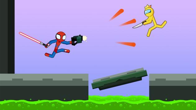 Spider Stickman Fight 2 - Supreme Stickman Warrior poster