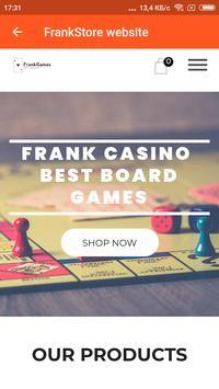 Frank casino screenshot 1