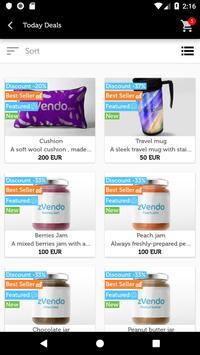 zVendo Store App screenshot 1